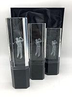 Статуэтка Гольф 3D гравировка GT-003 (1,2,3 место) кубок