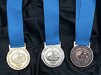 Медали золото, серебро, бронза на заказ