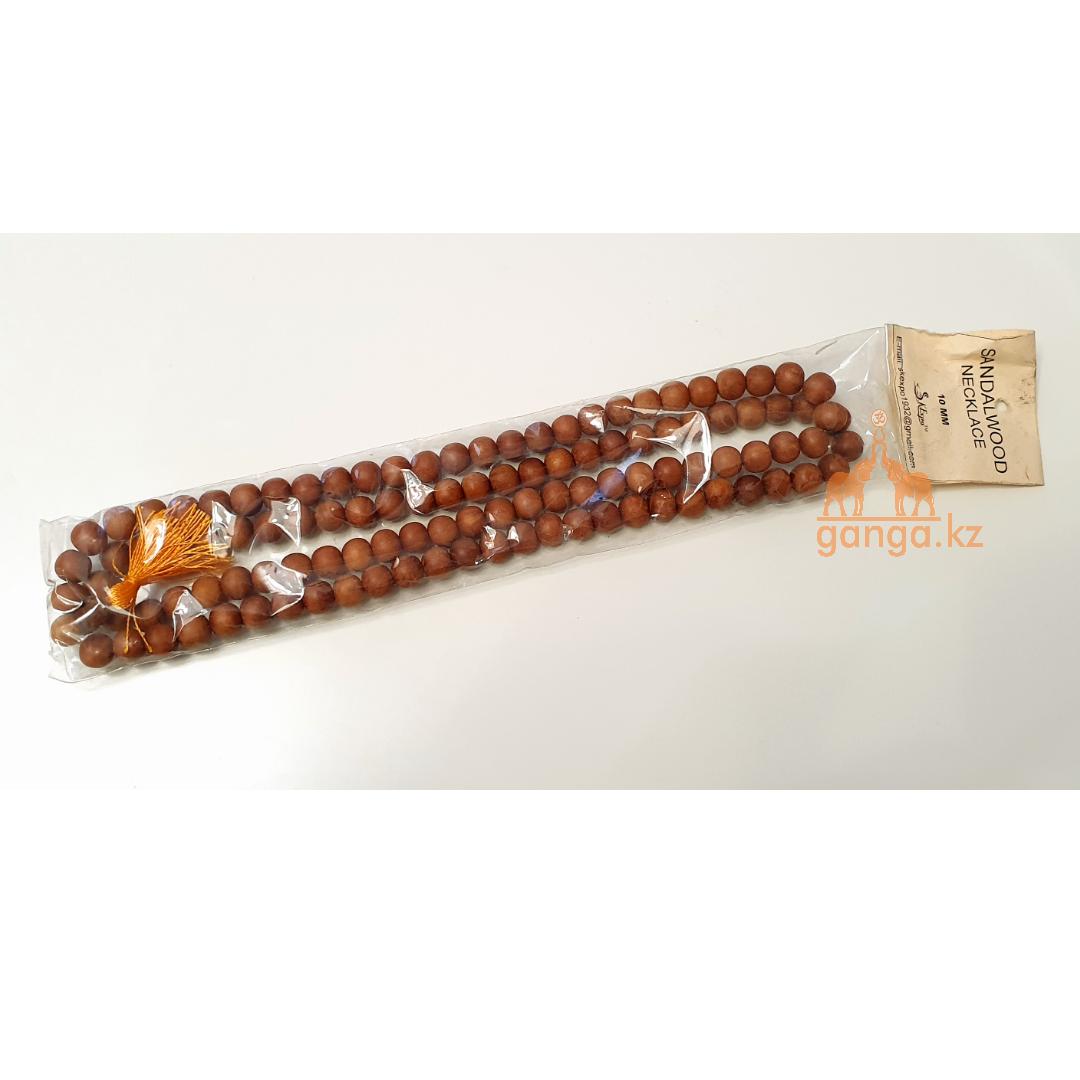 Четки из Сандалового дерева (108 бусин, 10 мм)
