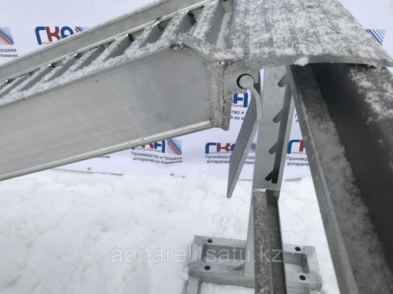 Производство рамп сходней алюминиевых аппарелей 4450 кг