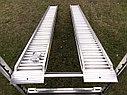 Производство рамп сходней алюминиевых аппарелей 4450 кг, фото 2
