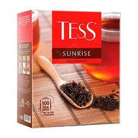 Tess черный чай Sunrise, 100 пакетиков