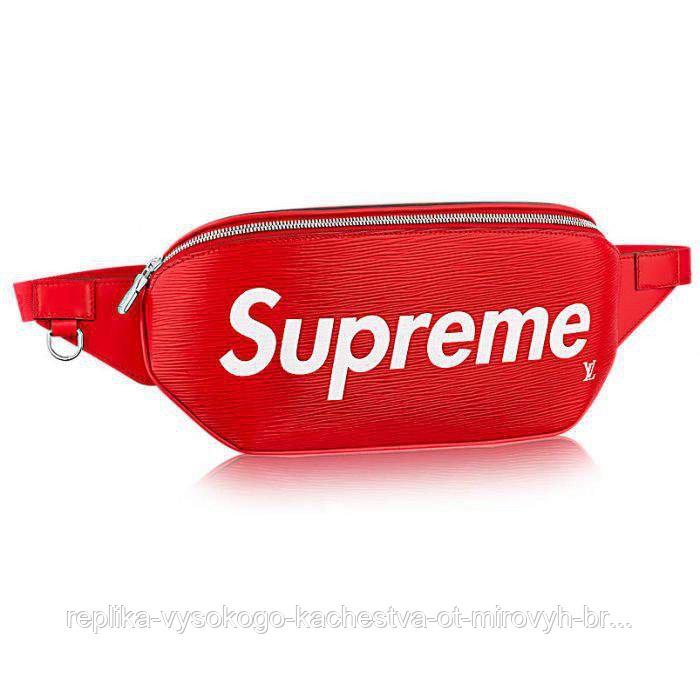 Сумка поясная Supreme x LV