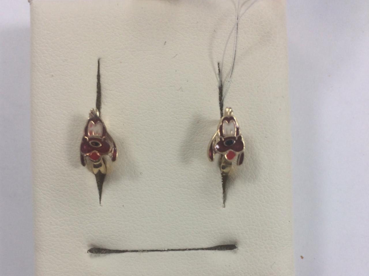 Детские сережки «Plooto»