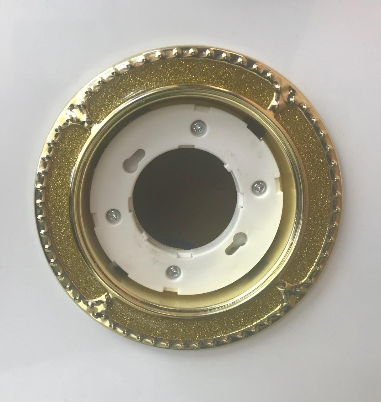 Светильник GX53 золото+золото