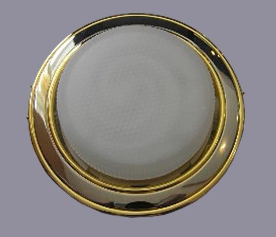 Светильник GX53 хром 2х-цветный/хром-золото