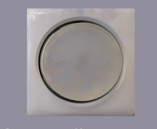 Светильник GX53 белый форма Квадрат