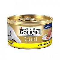 Gourmet Gold, Гурмэ Голд паштет с курицей, баночка 85 гр.