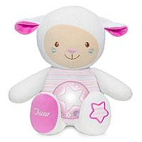 Игрушка-ночник Chicco Овечка Lullaby розовый