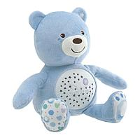 Игрушка-ночник Chicco Мишка голубой, фото 1