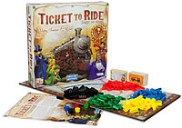 """Настольная игра """"Ticket to Ride: Америка"""" Вагонные споры — последнее дело..., фото 1"""