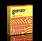 Презервативы «Ganzo» Juice, ароматизированные, 3 шт, фото 2