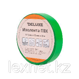 Изолента Deluxe ПВХ 0,13 х 15 мм