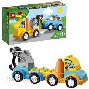 LEGO Конструктор, мой первый эвакуатор.