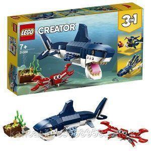 LEGO Конструктор, обитатели морских глубин.