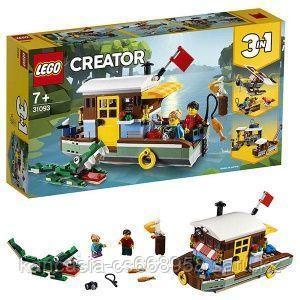 LEGO Конструктор, плавучий дом.