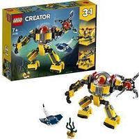 LEGO Конструктор, робот для подводных исследований.