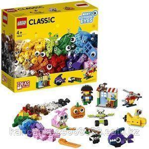 LEGO Кубики и глазки.