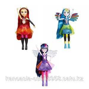 Hasbro Игрушка MLP Equestria Girls кукла интерактивная, Hasbro.