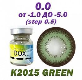 Цветные контактные линзы DOX -4,00
