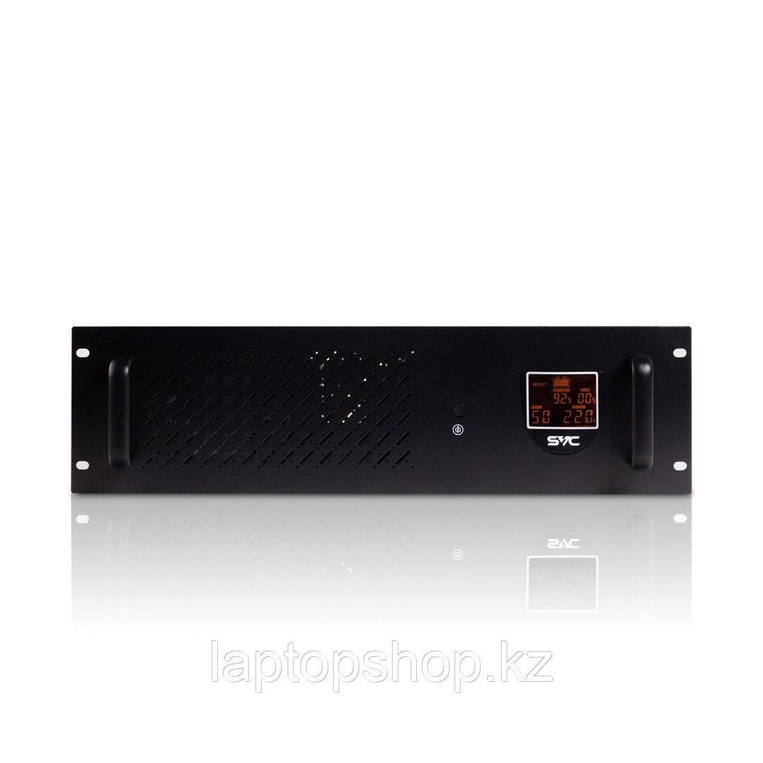 Источник бесперебойного питания SVC RTO-1200-LCD, Мощность 1500ВА/720Вт