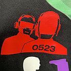 Термо флекс 0,5мх25м PU красный, фото 3