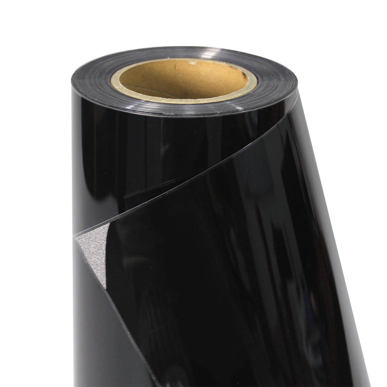 Термо флекс 0,5мх25м PU искрящийся черный