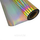 Термо флекс 0,5мх25м PU голографическое темное золото, фото 2
