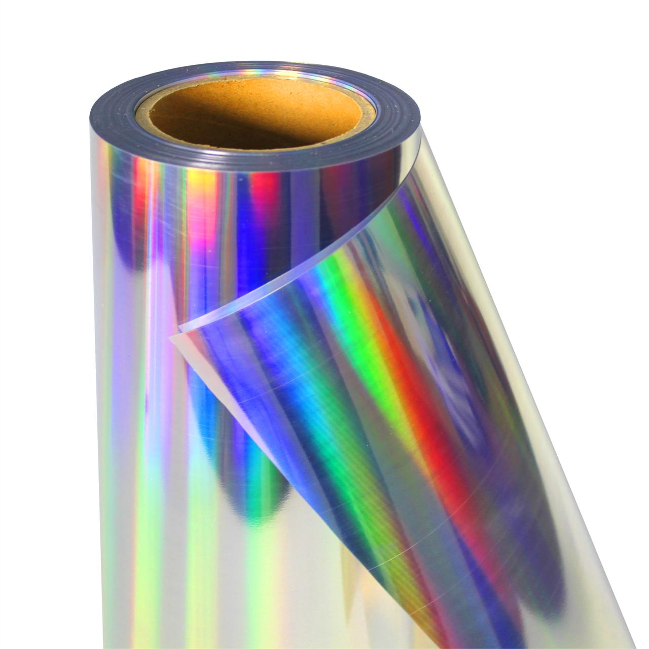 Термо флекс 0,5мх25м PU голографическое серебро