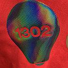 Термо флекс 0,5мх25м голографический черный с узором, фото 3