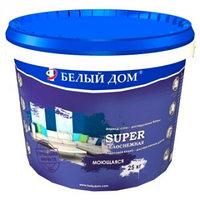 """Водоэмульсия """"Супер"""" Белый Дом (моющаяся) 7 кг"""