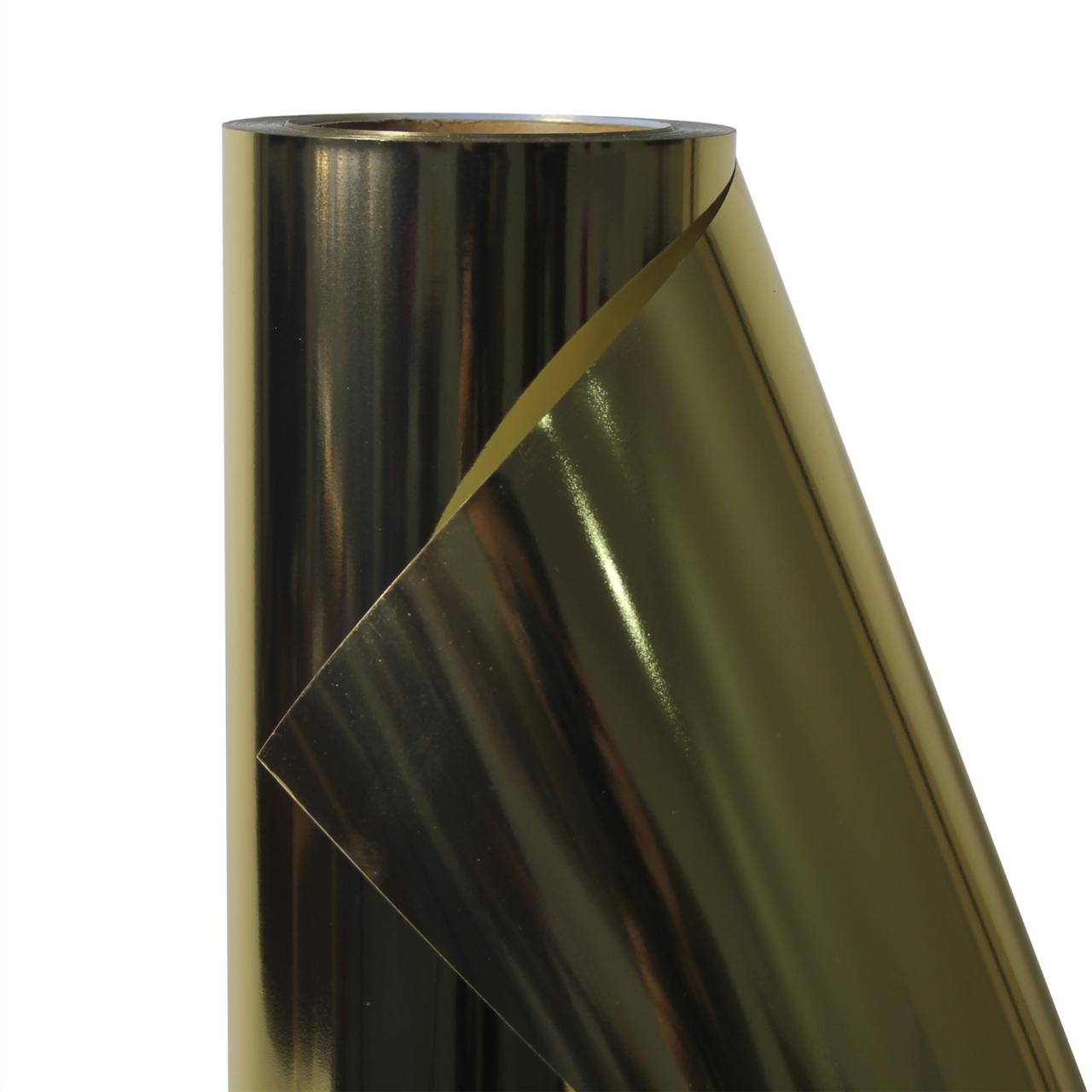 Термо флекс 0,5мх25м PU золото зеркальное металлизированное