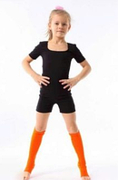 Комбинезон с коротким рукавом для гимнастики