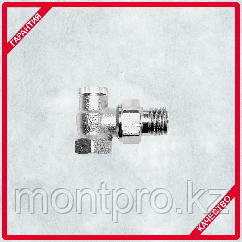 Клапан запорный ГЕРЦ-RL1 угловой (HERZ)