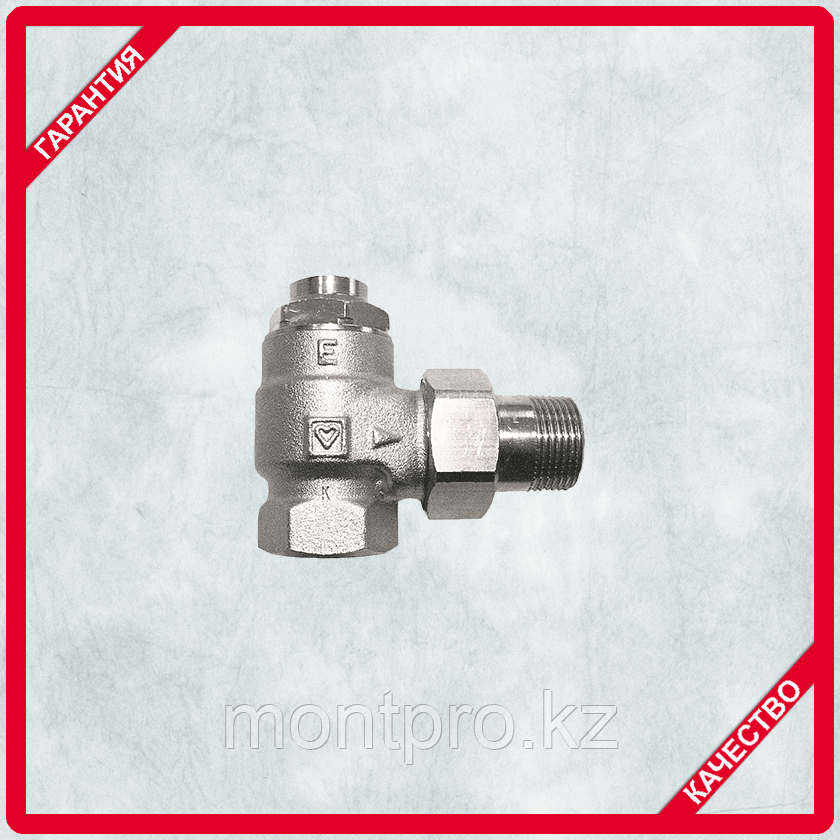 Клапан запорный ГЕРЦ-RL1-Е угловой (HERZ)