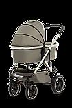 Коляска детская 2 в 1 Moon NUOVA 2020 Taupe, фото 3