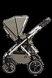 Коляска детская 2 в 1 Moon NUOVA 2020 Taupe, фото 6