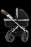 Коляска детская 2 в 1 Moon NUOVA 2020 Navy, фото 2