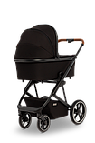 Коляска детская 2 в 1 Moon Kombi STYLE  black, фото 4