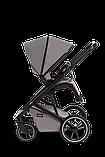Коляска детская 2 в 1 Moon Kombi STYLE stone grey, фото 5