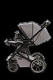 Коляска детская 2 в 1 Moon Kombi STYLE stone grey, фото 4