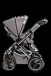 Коляска детская 2 в 1 Moon SCALA  Chrom stone grey, фото 4