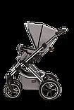 Коляска детская 2 в 1 Moon SCALA  Chrom stone grey, фото 8
