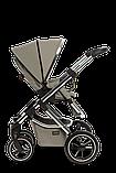 Коляска детская 2 в 1 Moon SCALA  Chrom taupe, фото 5
