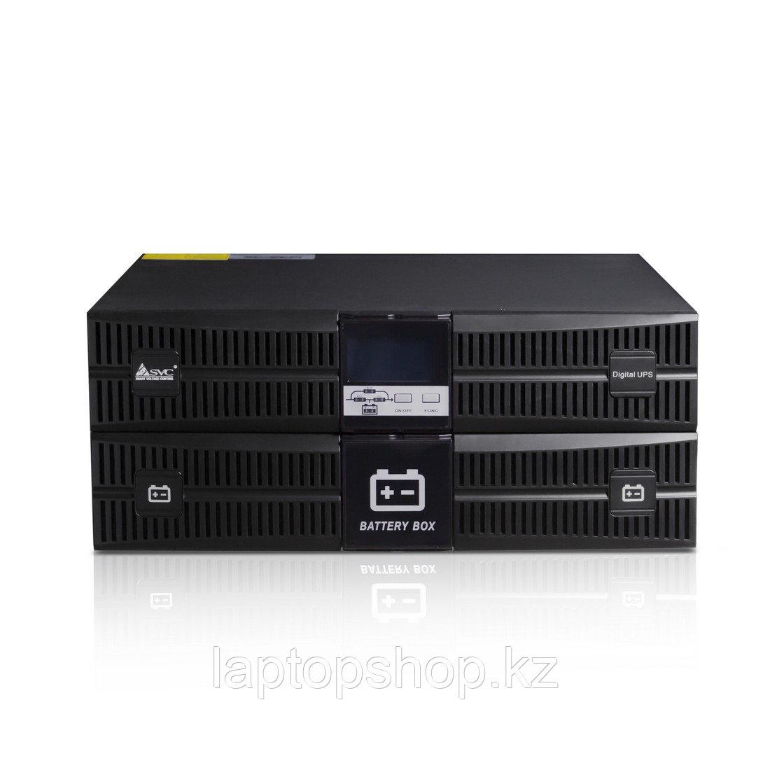 Источник бесперебойного питания SVC RT-3KL-LCD, Мощность 3000ВА/2700Вт