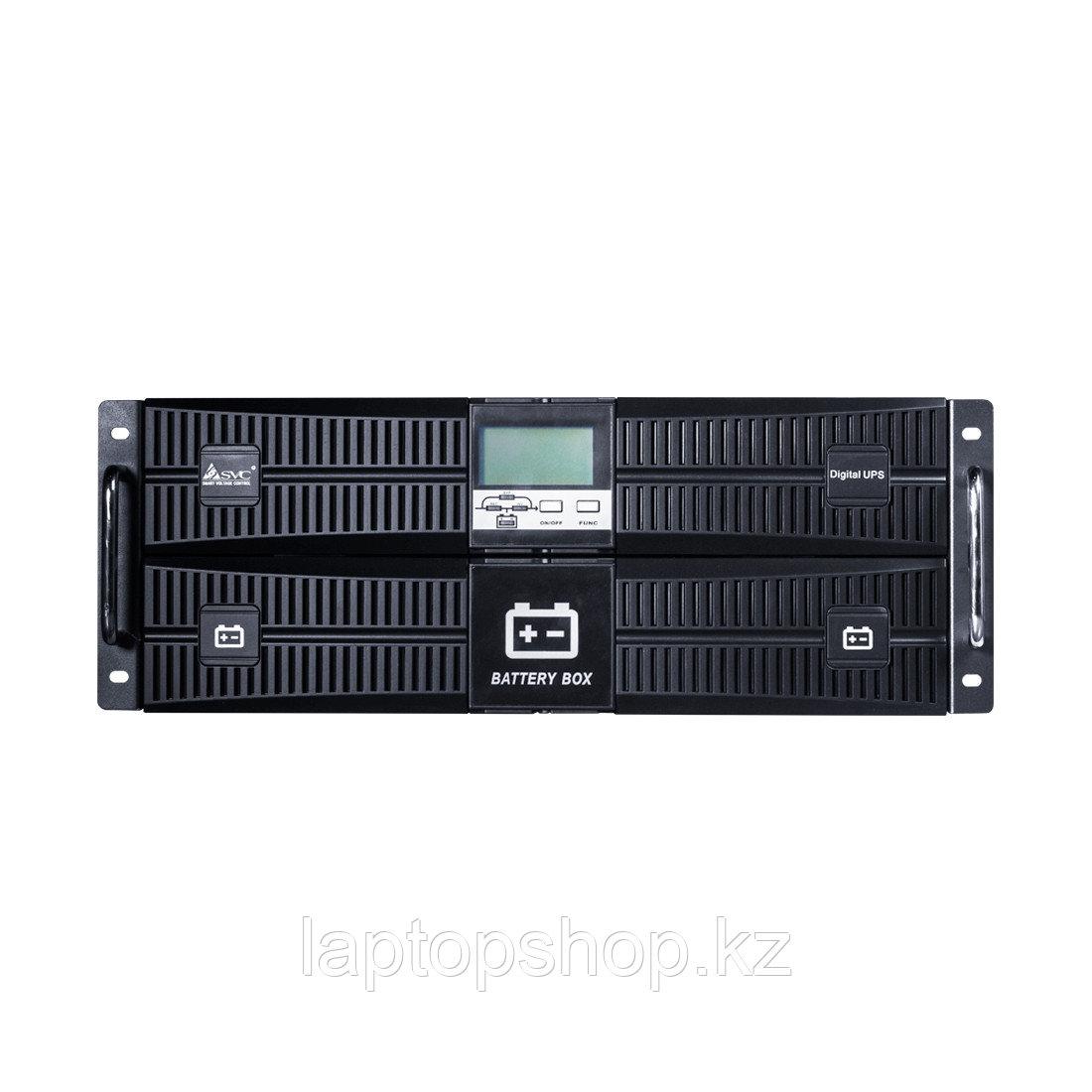 Источник бесперебойного питания SVC RT-6KL-LCD, Мощность 6кВА/6кВт