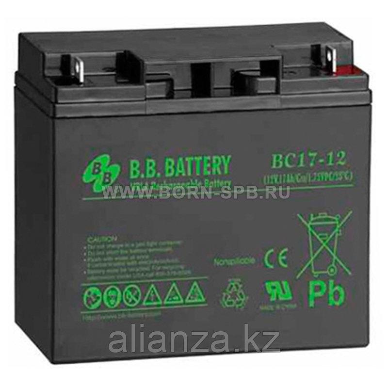 Аккумулятор BB Battery BC 17-12