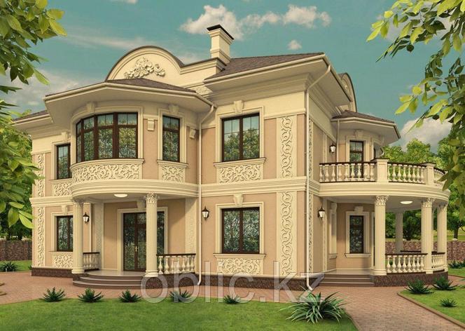 Визуализация фасада дома, фото 2