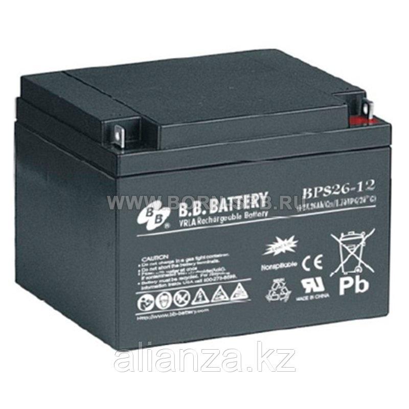 Аккумулятор BB Battery BPS 26-12