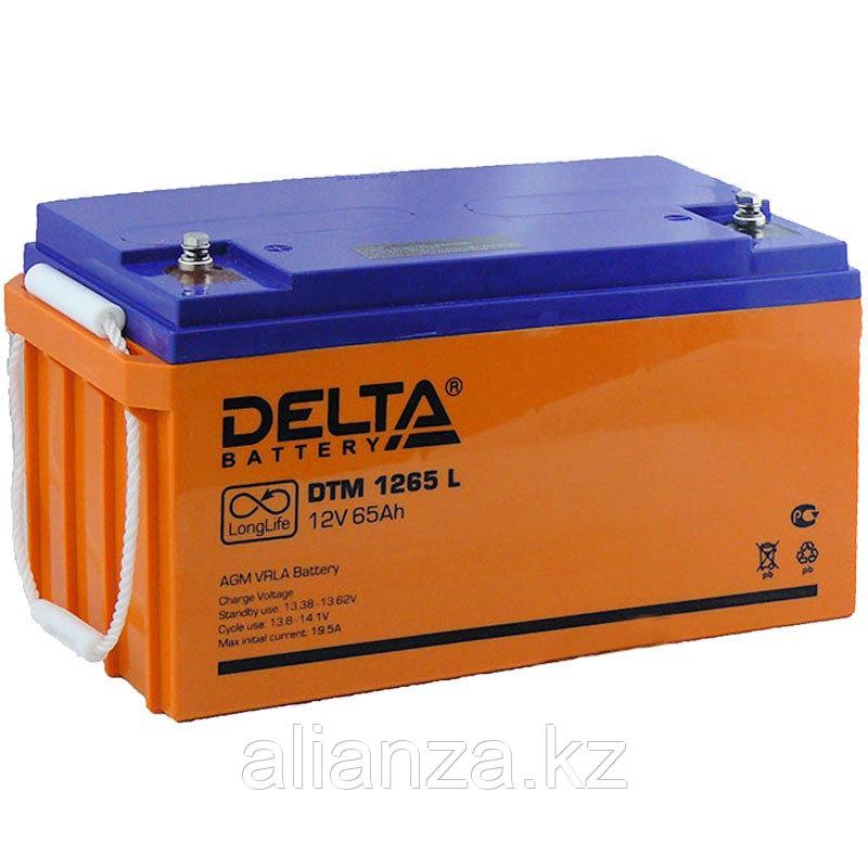 Аккумулятор Delta DTM 1265 L